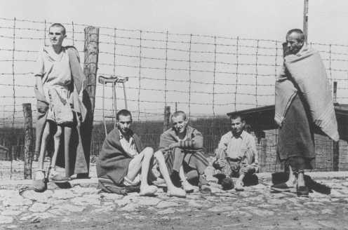 Young Buchenwald survivors at liberation