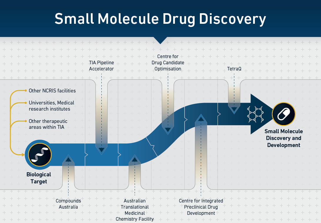 Small Molecule Drug Discovery diagram