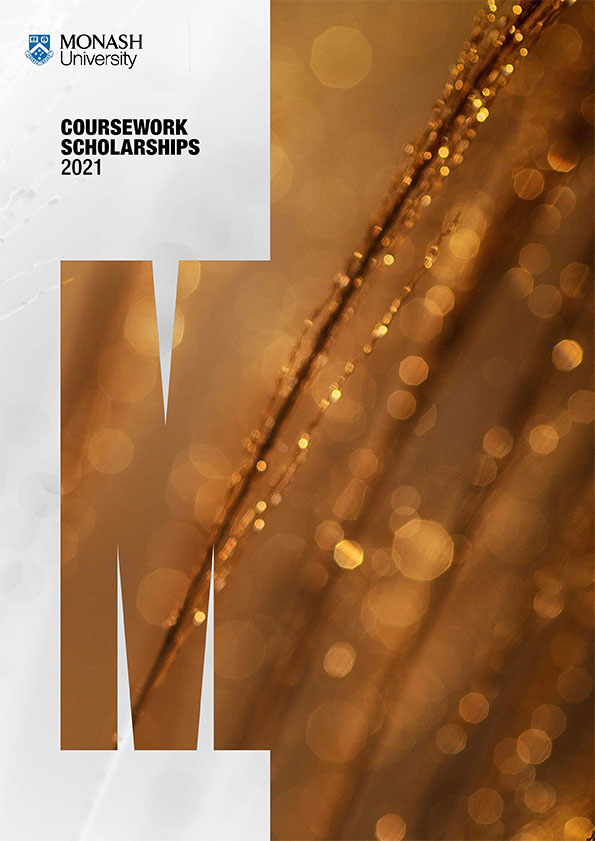 Monash Scholarship Guide 2021 Guide cover