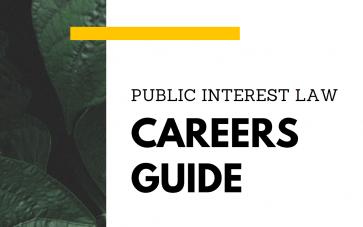 Public Interest Law Careers Guide