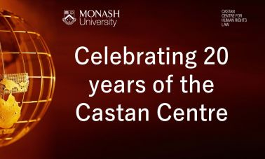 Castan Centre 20 anniversary front page
