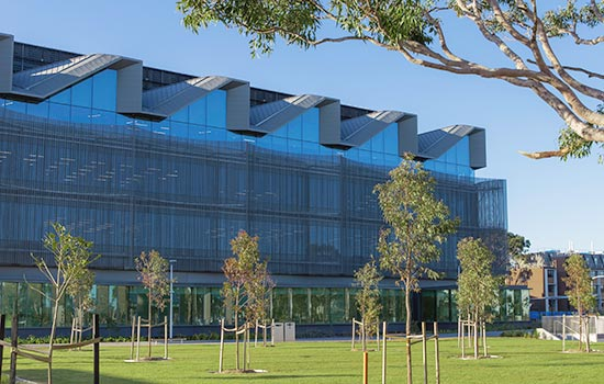 Photo of Learning and Teaching Building at Clayton campus, Monash University