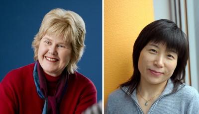 Professor Lois Salamonsen and Professor Guiying Nie