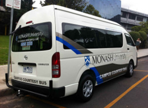 Monash security bus