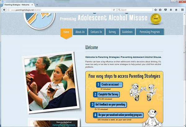 Parenting Strategies website