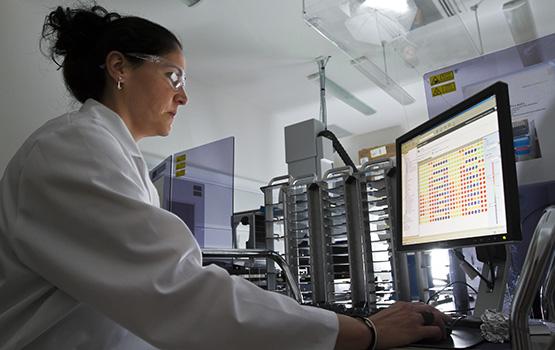 Meri Canals in DDB Laboratory