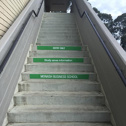 Stairs Monash Business School