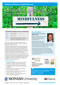 Mindfulness Workshop 2016 Flyer