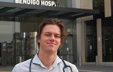 Medical student, Zak Doherty