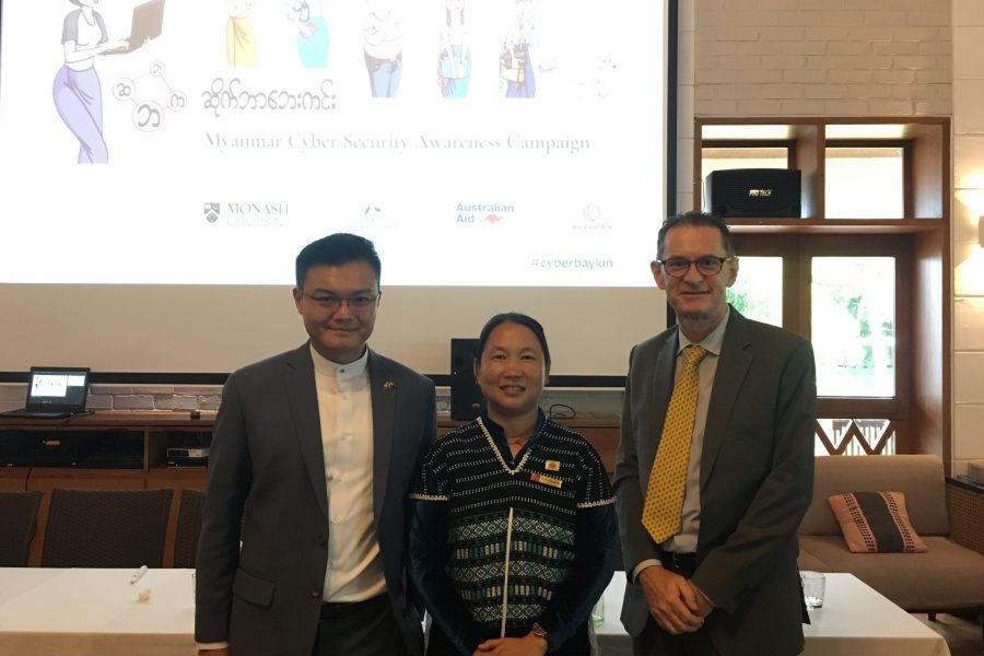 Launch of Myanmar Cyber Security Awareness Campaign