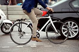 Sub-human cyclists