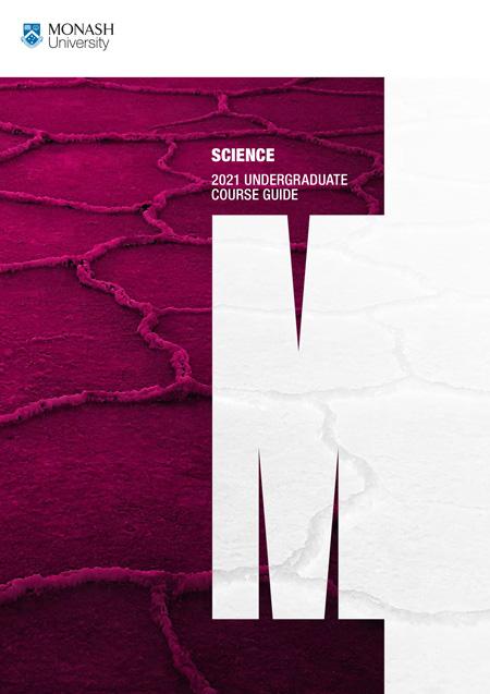 SCIENCE 2021 UNDERGRADUATE COURSE GUIDE
