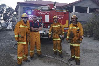 CFA firefighters