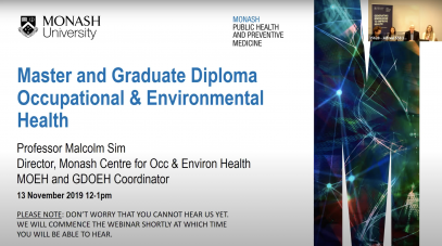feature - master of occupational and environmental health