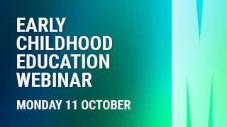 Graduate Diploma in Early Childhood Education Webinar. 11 October 2021