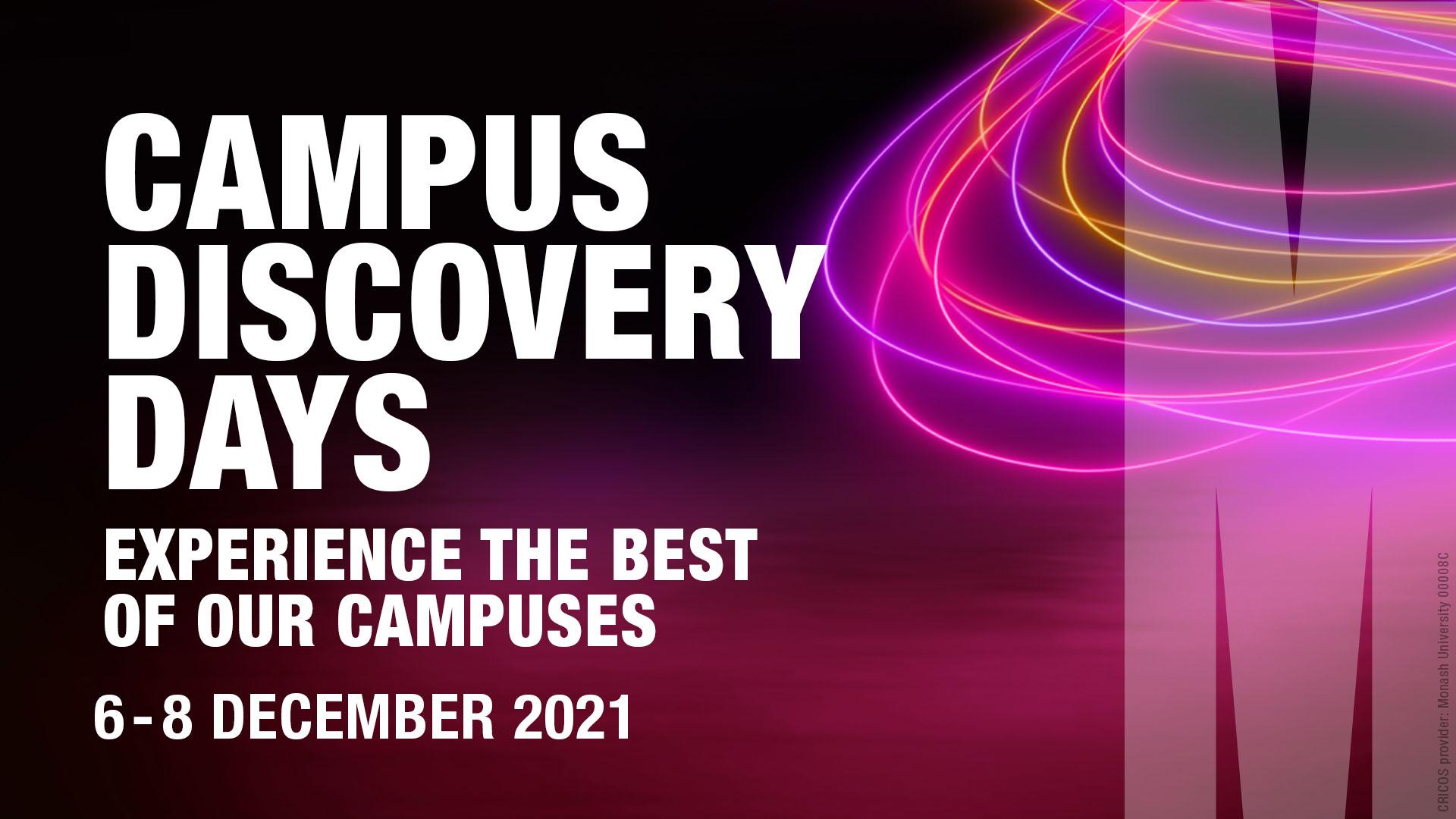 Campus Discovery Days Campus Discovery Days