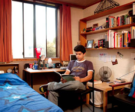 deakin hall student room
