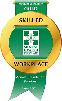 Gold Skilled Workplace accreditation logo