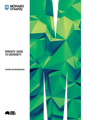 Parents' Guide to university brochure