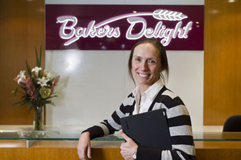 Leslie Gillespie at Baker's Delight