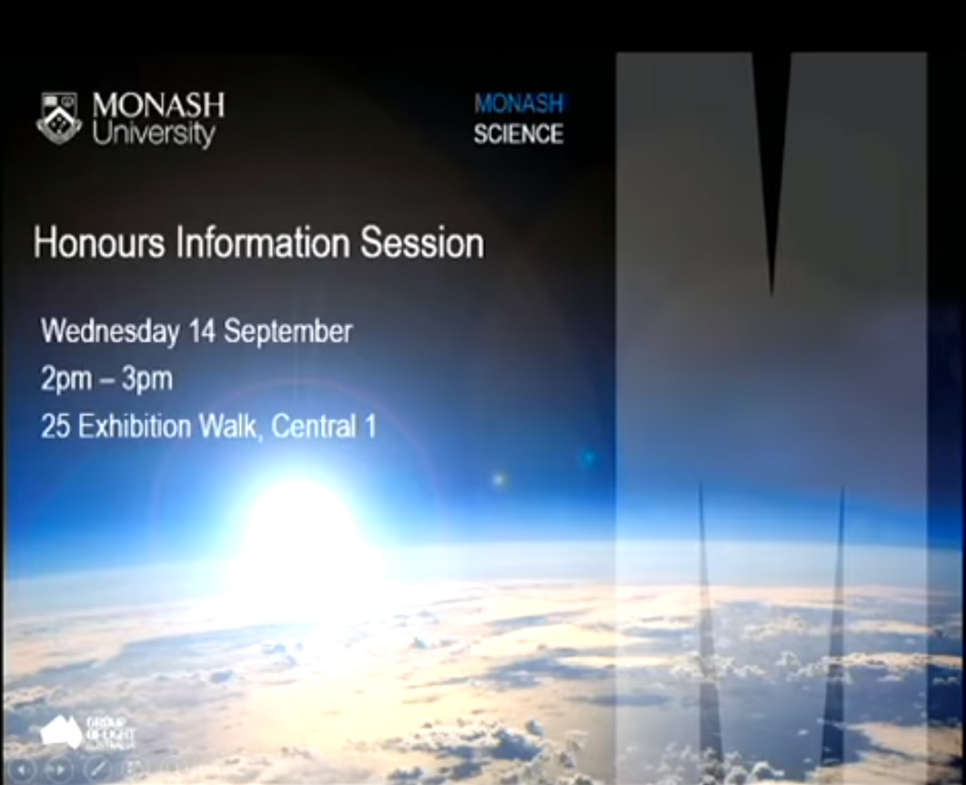 Honours Information Session