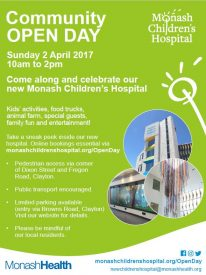 MCH open day