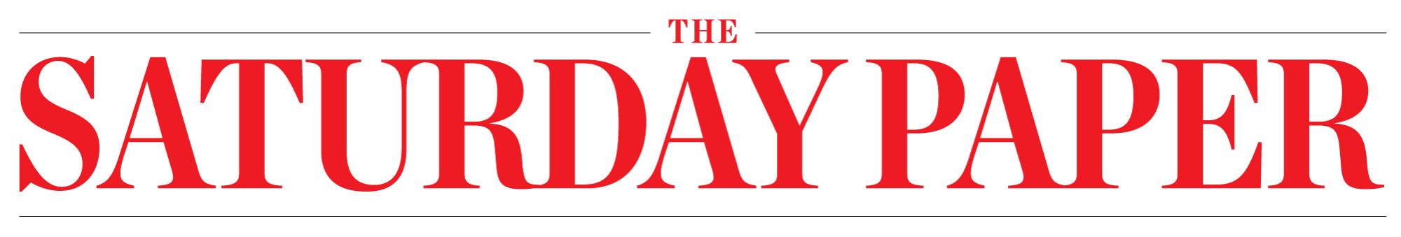 Saturday Paper logo