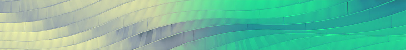 Metallic facade green