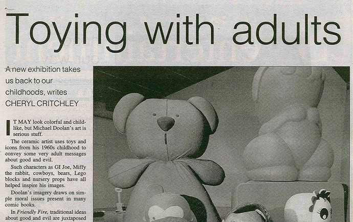 exhibitions-2000-Michael-Doolan-The-Good-The-Bad-And-The-Cuddly