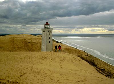 lighthouse denmark beach