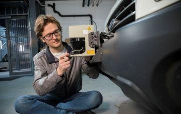 Laser Based Instrumented Car