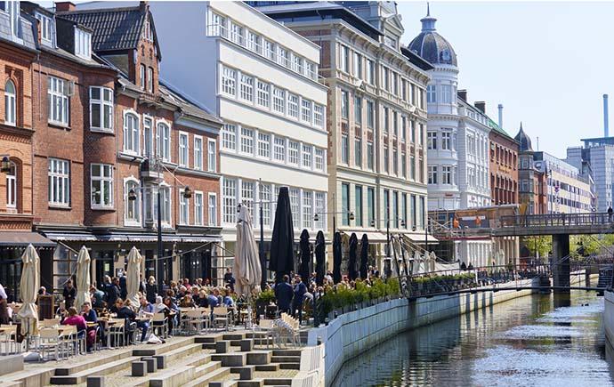 Image: Aarhus in Denmark