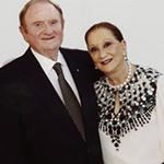 Dr John Gandel AC and Dr Pauline Gandel