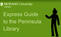 Captioned video: Guide to Peninsula Library