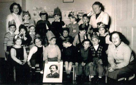 Sholem Aleichem Kindergarten party 1954
