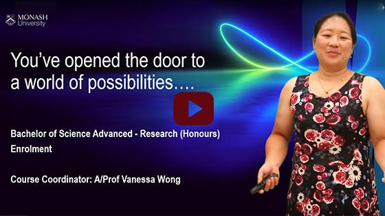 Advanced Research Enrolment presentation video