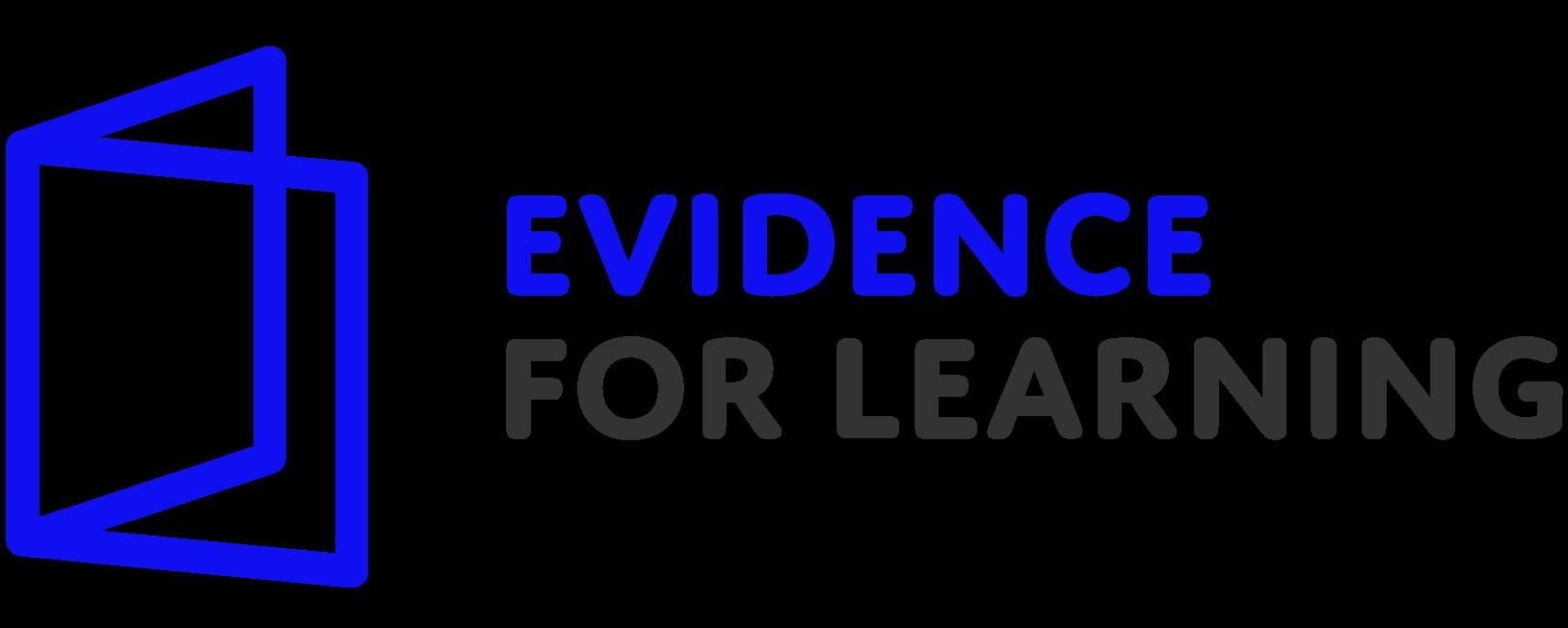Evidence for learning logo