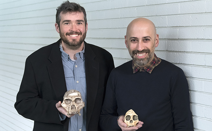 Dr Justin W. Adams and Dr Luca Fiorenza.