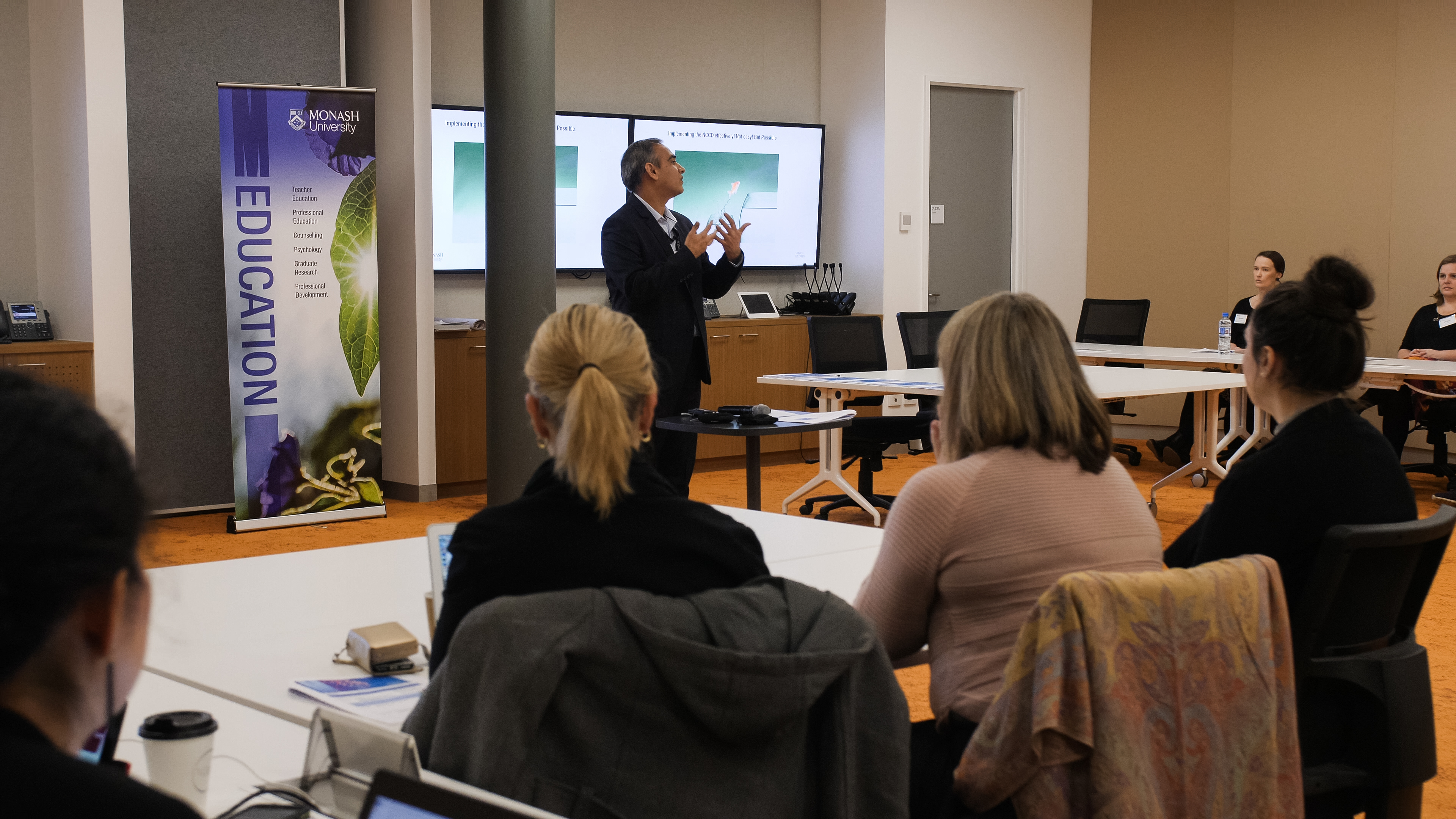 The Monash-hosted NCCD forum brought together key stakeholders from around Australia.