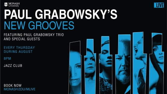 Paul Grabowksy's New Grooves live music series at the Jazz Club