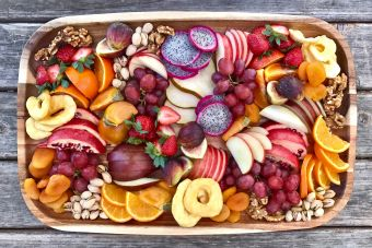 Fruit and Nuts Platter