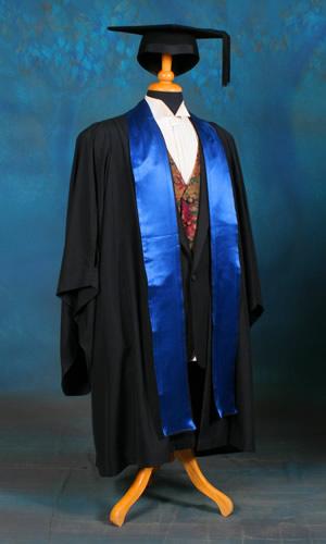 Faculty of Medicine, Nursing and Health Sciences. Colour: Victrix blue