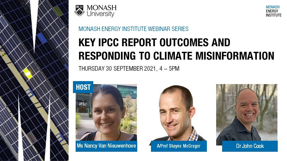 Webinar | Key IPCC report outcomes and responding to climate misinformation