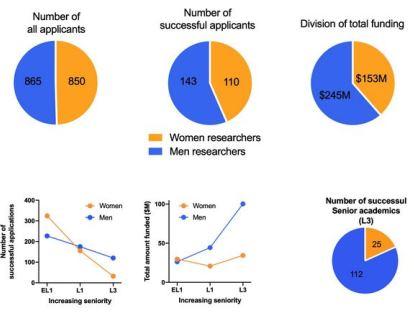 STEMM equity stats