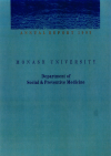 1993 Annual Report Cover