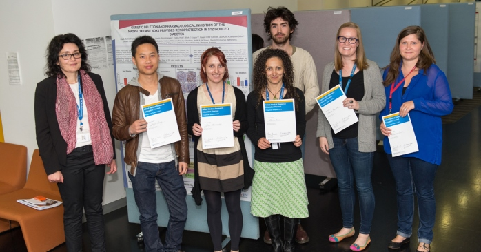 2013 Postgraduate Symposium winners