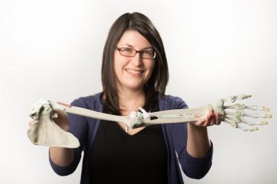 3D printed human anatomy