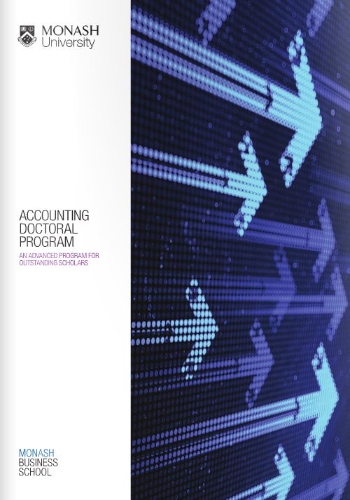 Accounting Doctoral Program Brochure