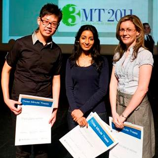 2011 3MT thesis finalists