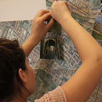Student studying architecture at the Monash Prato Centre, Italy.